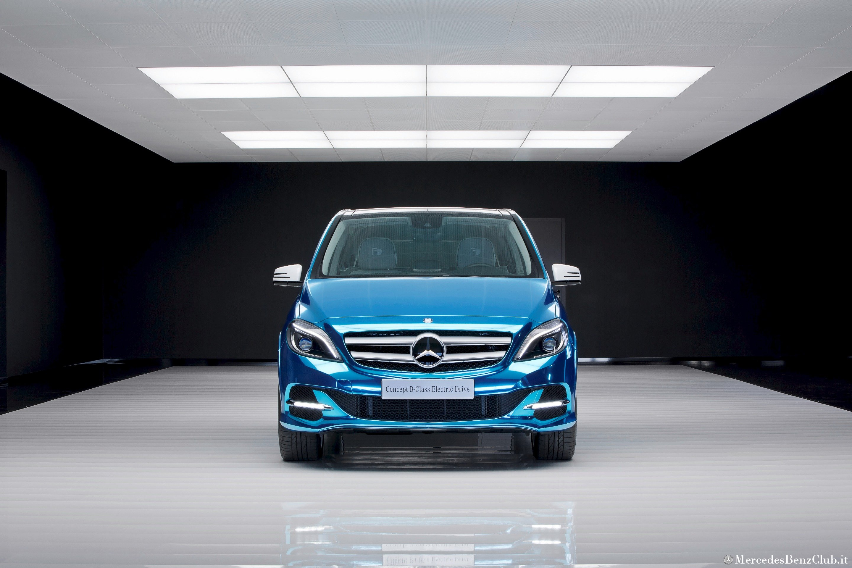 Mercedes Benz B-Klasse Electric Drive, (W 242), Paris 2012